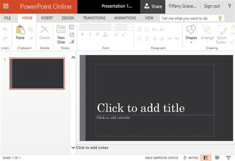 Widescreen View Powerpoint Template Sophisticated Powerpoint Templates
