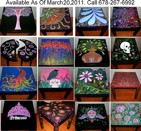 home decor funky design funky home decor hand painted coffee tables nightstands