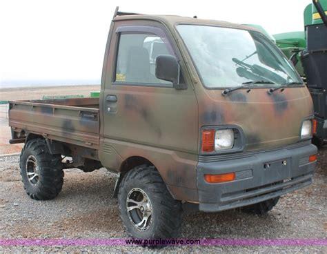 1997 mitsubishi mini truck no reserve auction on