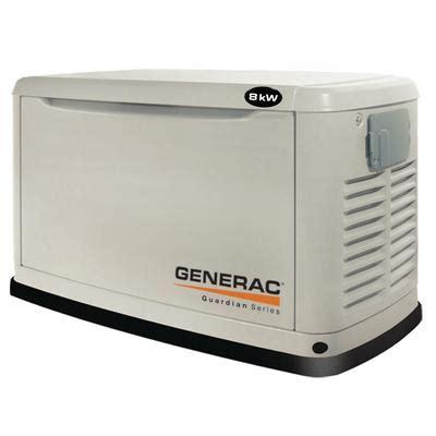 generac generac 8kw automatic home standby generator