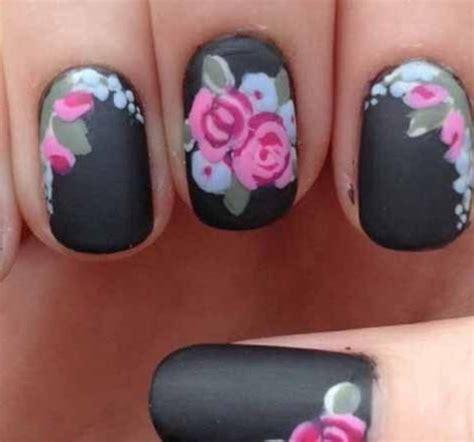 matte nails nails10