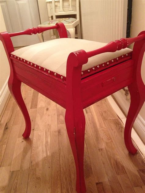 How To Reupholster A Piano Stool by 17 Best Images About Reupholstering Stuff On
