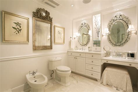 mirrored bathroom mirrored vanity bathroom contemporary with pattern