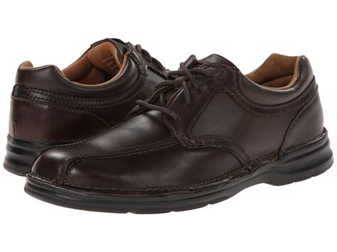 nunn bush pennant brown s lace up casual shoes