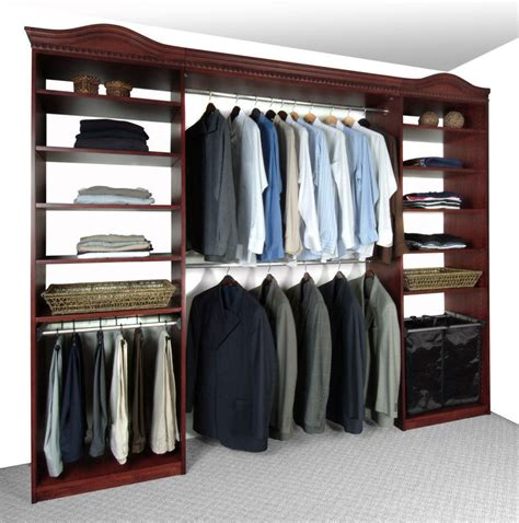Cherry Wood Closet Organizer by Solid Wood Closets Inc Professional Organizers In