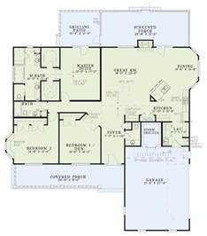 Pictures Of Open Floor Plans Country Style House Plan 3 Beds 2 5 Baths 2131 Sq Ft