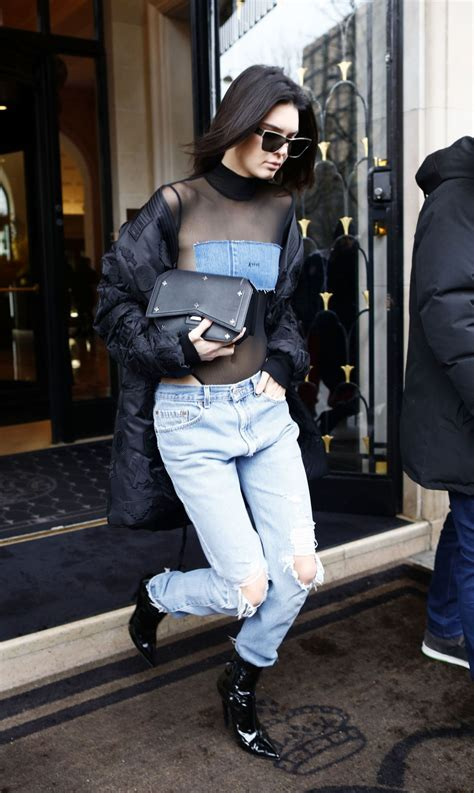 style kendall jenner 2017 kendall jenner urban style out in paris 3 6 2017