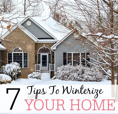 7 tips to winterize your home frugally