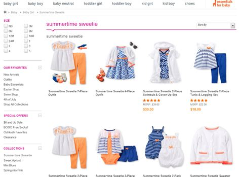 Slaber Carters Baby Grow toddler clothes clearance baby for boys clothing from luxury brands toddler boy