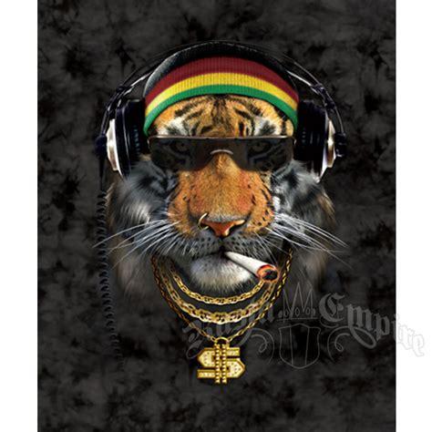 Jamaican Home Decor rasta saber tiger luxury plush blanket rastaempire com