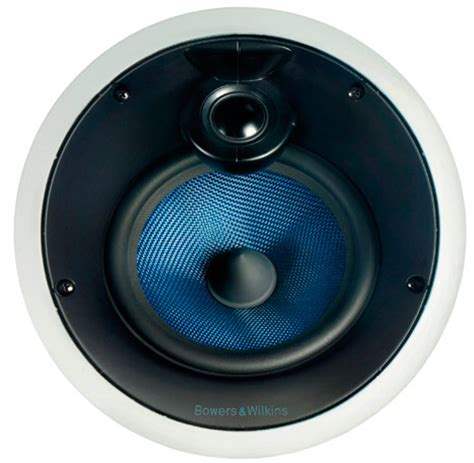 b w ccm816 in ceiling speaker features a blue kevlar