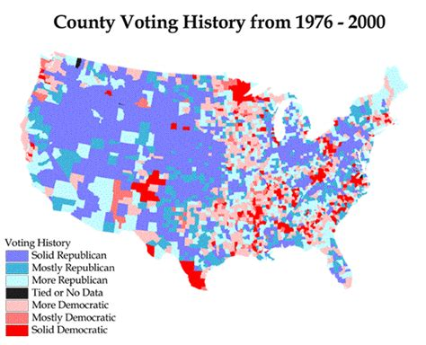 voting pattern meaning county voting patterns voting histories