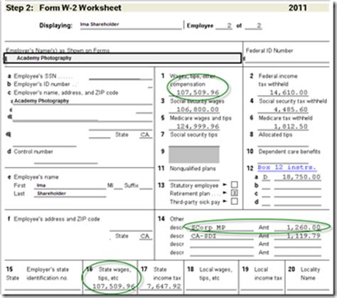 Code Section 125 by Quickbooks Payroll How To Adjust W 2s To Report