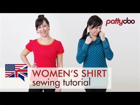 youtube tutorial sewing how to sew a t shirt for women a step by step sewing