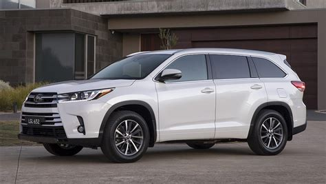 toyota suv car toyota kluger 2018 pricing and specs confirmed car