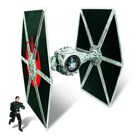 wars ecliptic evader tie fighter with hobbie