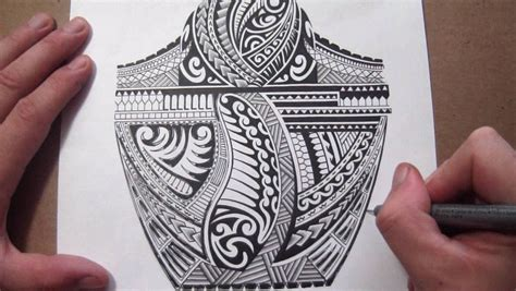 adding to a tribal tattoo maori polynesian tribal half sleeve design adding
