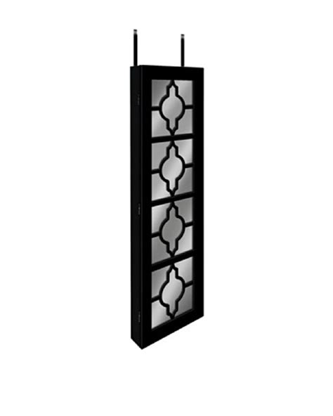 over the door hanging jewelry armoire dalton home collection over the door wall hanging jewelry