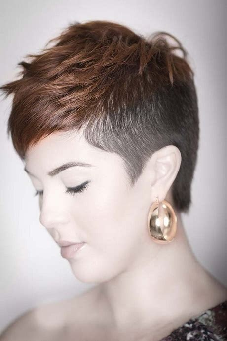 how to cut female hair with short sides and long top short hair cuts for women with shaved side