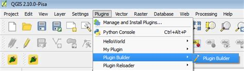 tutorial qgis pisa tutorial creating a qgis plugin in windows 7 with the