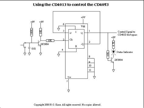 Analog Multiplexer Cd4053 Mux 4053 bypassing and switching with the cd4053 cmos analog mux