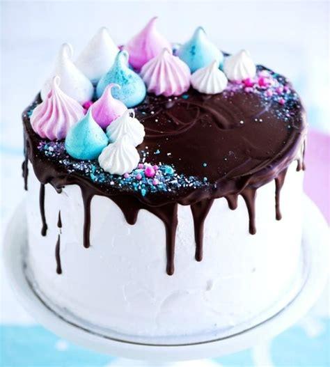 delicious dripping cake ideas oozing  icing cake decorating cake meringue cake cake