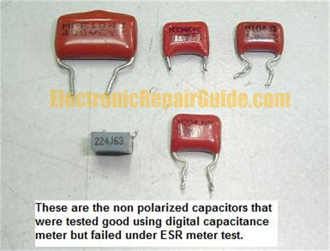 how to test non polar capacitor how to test non polarized capacitors 28 images 10pcs xicon 47uf 50v axial non polarized