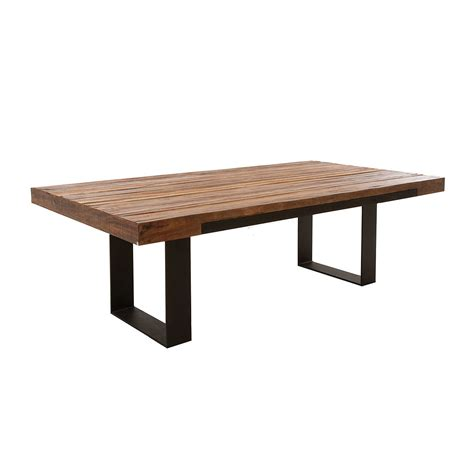 A Dining Table Dining Table Make Dining Table Recycled Wood
