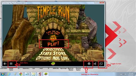 Bluestacks quick steps to install and play temple run full version