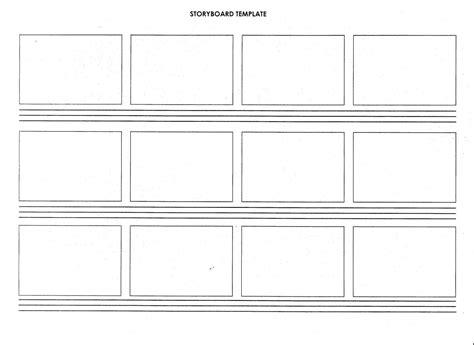 Blank Storyboard Template by Script Storyboard Template Blank Storyboard Template
