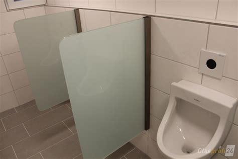 trennwand toilette trennwand f 252 r toilette aus glas glasprofi24