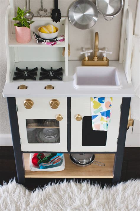 homemade play kitchen ideas diy play kitchen makeover rae ann kelly