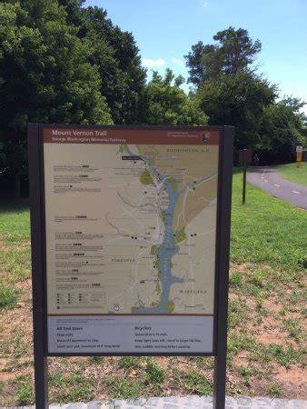 mt vernon trail map theodore roosevelt island park arlington va award