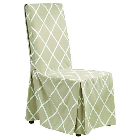 Dining Chair Covers Target Sure Fit Lattice Dining Room Chair Slipcover Target