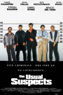 The Usual Suspects 1995 Film Top 10 Most Iconic Movie Posters Geeked Out Nation