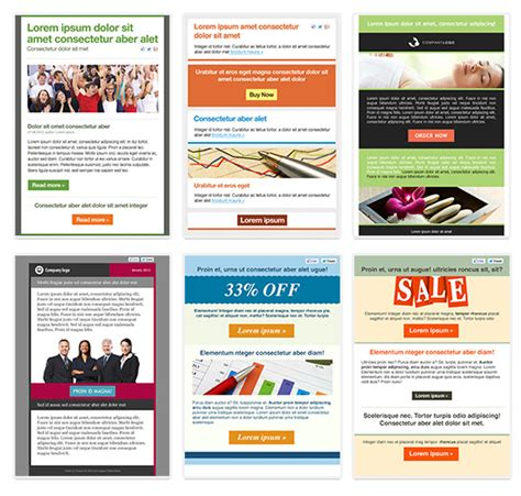 mobile friendly email templates new mobile friendly newsletter templates getresponse