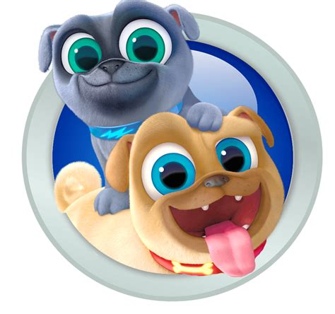 puppy pals puppy pals mission a lift the flap book books image bingo and rolly of puppy pals png disney