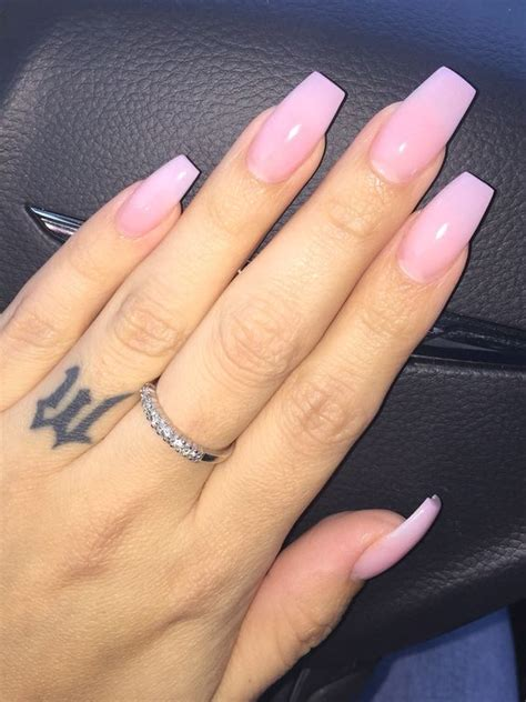 Light Pink Acrylic Nails by Light Pink Acrylic Nails Gallery