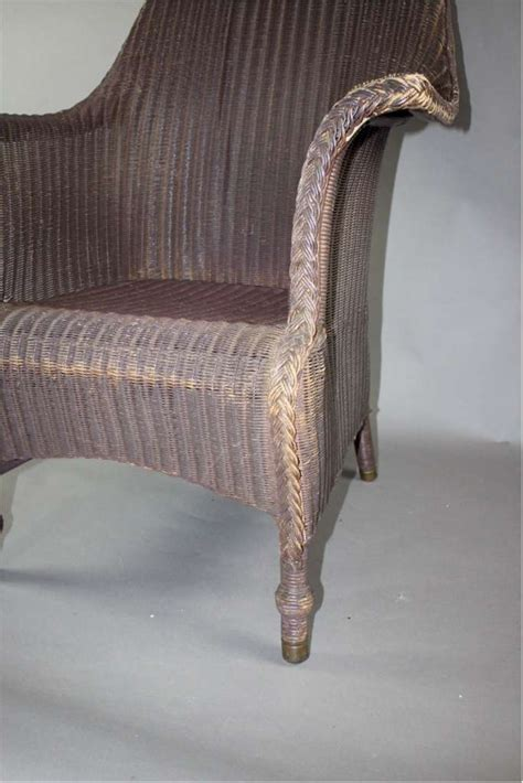 lloyd loom armchair large original lloyd loom armchair c1930 s latest stock art furniture