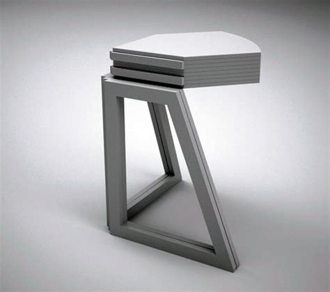 Origami Folding Table - grand central origami style folding table furniture