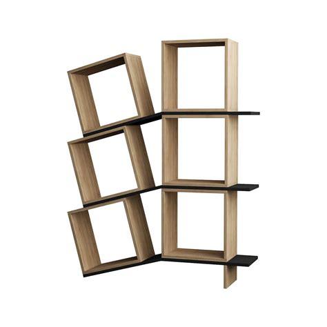 librerie design moderno sloping libreria design moderno da terra in legno 115 x 150 cm