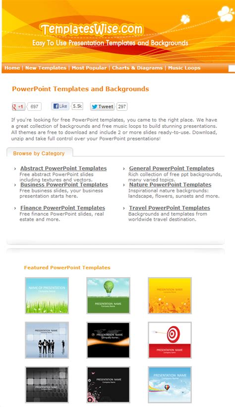 trik membuat presentasi menarik membuat presentasi menarik website untuk powerpoint templates