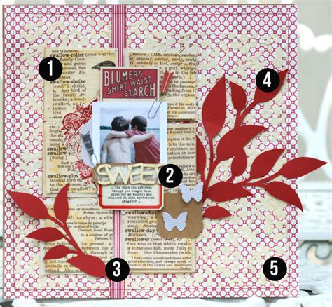 scrapbook layout design ideas 5 liftable ideas from 1 scrapbook page by betsy sammarco