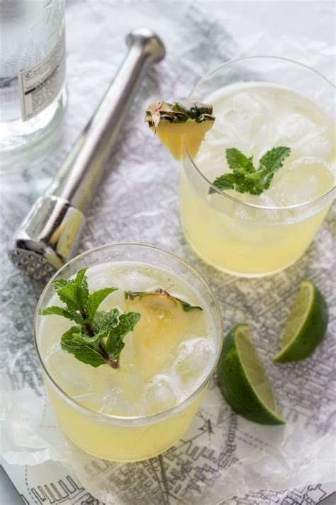 pineapple mojito recipe 17 best images about cocktails with alcohol on pinterest