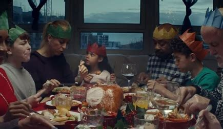 tesco christmas advert song families cooking turkey
