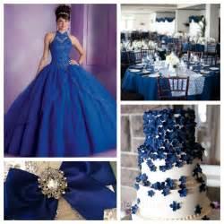 quinceanera colors and color scheme ideas quince theme decorations quinceanera ideas royal blue