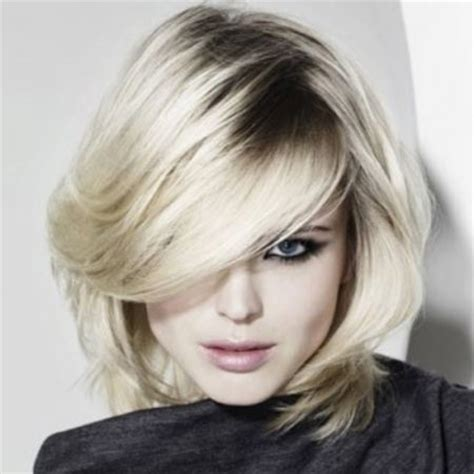 feathered side bang haircuts hairstyles with feathered bangs straight hair medium