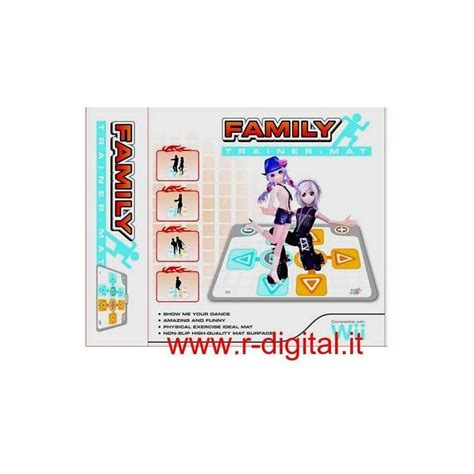 tappeto wii tappetino family trainer nintendo wii sport tappeto mat