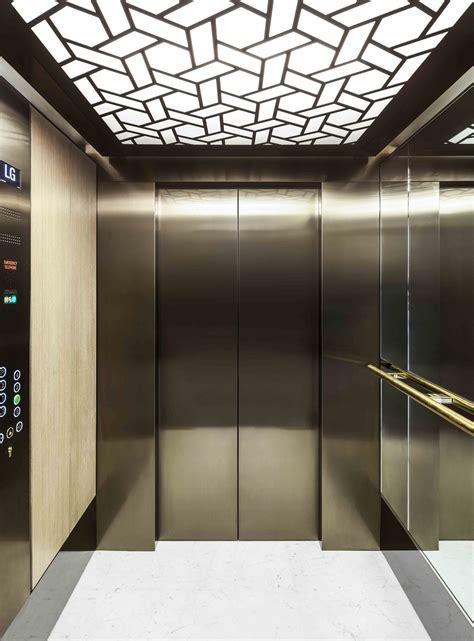 elevator designs laser cut screen linton house london elevator ceilng