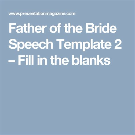 of the speech templates of the speech template 2 fill in the blanks